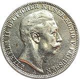 ᑕ❶ᑐ Wilhelm Deutscher Kaiser Koenig Von Preussen Muenze Test