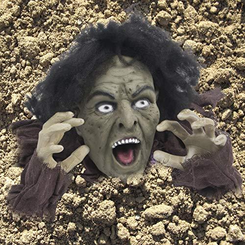 Decoración de Halloween Zombi Saliendo de la Tierra decoración de Halloween de Exterior