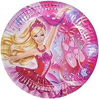 Amscan International 23cm Schuhe Pappteller (Barbie Pink)