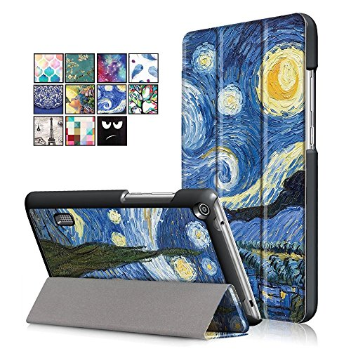 cover per tablet 7 pollici DETUOSI Huawei MediaPad T3 7.0 Custodia Cover