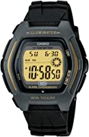 Casio Men's Digital Dial Resin Band Watch - HDD-600G-9AV
