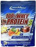 IronMaxx 100% Whey Protein – Proteinpulver für Eiweißshake – Eiweißpulver auf Wasserbasis mit Apfel-Zimt Geschmack – 1 x 2,35 kg Beutel