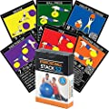 Exercise Ball Fitness Cards by Stack 52. Swiss Ball Workout Playing Card Game. Video Instructions Included. Bodyweight Training Program for Balance and Stability Balls. Get Fit at Home. from Stack 52