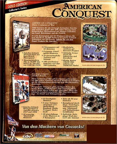 American Conquest - Gold Edition (Software Pyramide)