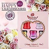 Blue Sky Gel polish Valentinstagsgeschenkset, 1er Pack (5 x 10 ml)