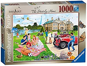 Ravensburger Days out No.1 - Puzzle de 1000 Piezas, diseño de casa de Escalada