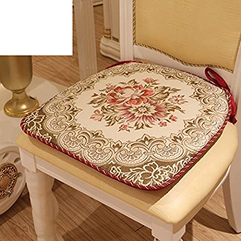 tela premium amortiguador de la silla de comedor/cojín de la silla temporadas-B 47x47cm(19x19inch)