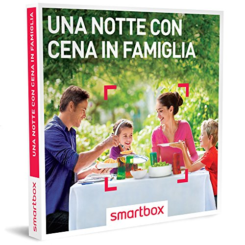 Smartbox cofanetto regalo- una notte con cena in famiglia - 171 soggiorni a scelta in b&b, agriturismi e hotel 3*