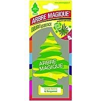 Arbre magique 1710546 Désodorisant Arbre Magique Green Forest & Bergamot