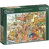 Falcon de luxe Sea and Sunshine Jigsaw Puzzle (1000-Piece)