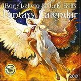 Boris Vallejo & Julie Bell's Fantasy 2019 Calendar