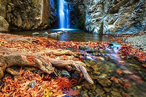 111203-39-magic-waterfalls-a4-matted-fine-art-photograph-nature-landscape-best-for-home-and-office-a