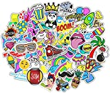 Stickerbombe aufkleber 400 sticker graffiti macbook iphone skateboard vinyl pop art aufkleber Sortiert Sticker Pack Snowboard Gepäck Koffer iPhone Auto Fahrrad Bumper Bomb Pack - Vintage Retro Pop Art