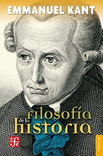 Filosofía de la historia (Filosofia) por Emmanuel Kant