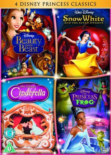 Cinderella/The Princess and the Frog/Beauty and the Beast/Snow White [DVD] by Gary Trousdale (Princess White Snow)