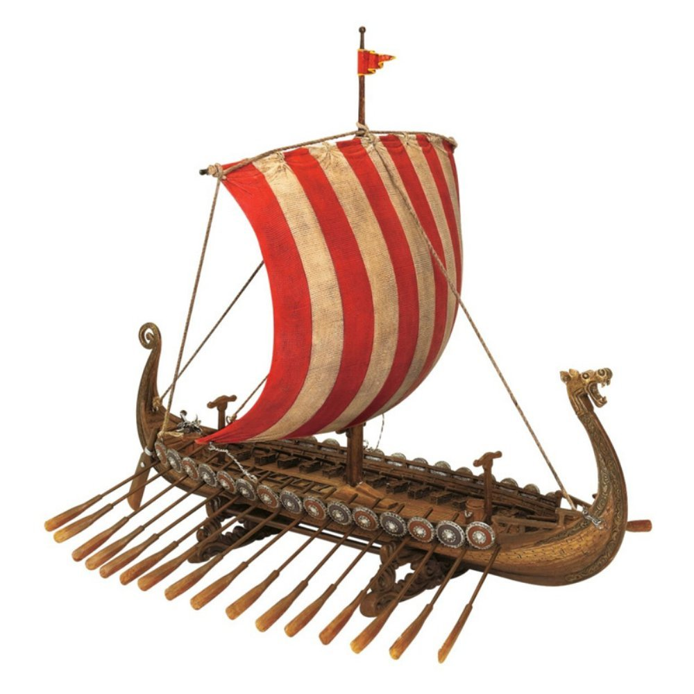 Design Toscano Drekar, the Viking Longship Collectible Museum ...