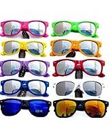 NERD® Sonnenbrille Cool verspiegelt! (Lila)