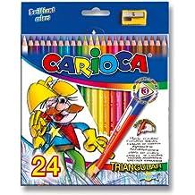 Carioca - Caja co 24 lápices triangulares (A30900024)