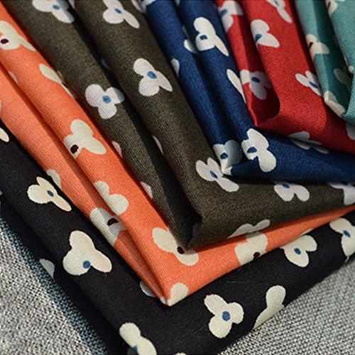 Sitong coton petit coton imprim¨¦ floral poche mouchoir carr¨¦ MKH-004