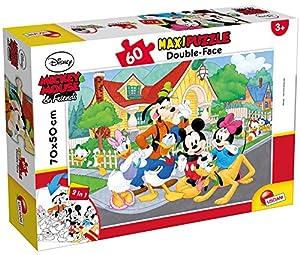 Lisciani Giochi 66728.0-Mickey Puzzle DF Supermaxi 60