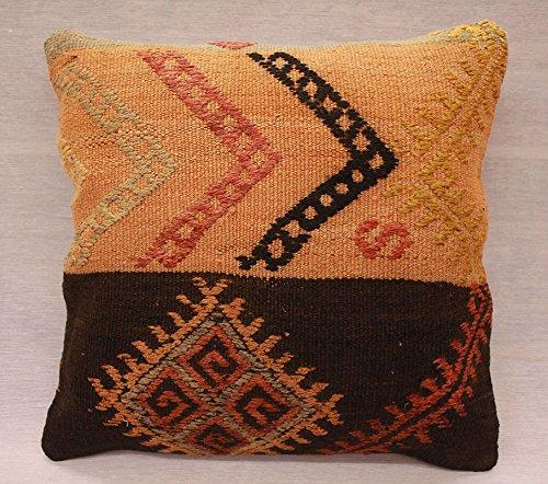 ETFA Kelim Kissen Kissenbezug Kissenhülle cushion cover pillow 40x40 cm 3248