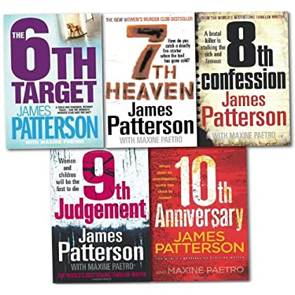 Womens Murder Club Collection 5 Book Set (6 to 10) [Paperback] by James Patte...