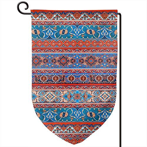 Lilyo-ltd Ethno-Muster, Garten-Flagge, 31,8 x 45,7 cm, doppelseitig, Polyester