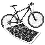 Reifenspuren Aufkleberset für Fahrrad Rahmen Sticker Spuren Bike| S4B0131