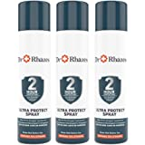 Dr Rhazes Ultra Protect Hand Sanitizer Spray with 2 hours Germ Protection for Hands and Surfaces, Pack of 3, 110ml each