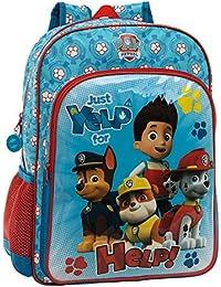 Paw Patrol 4462351 Mochila Infantil, Color Azul, 19.2 Litros