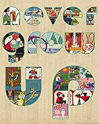 Heritage 1093 Never Grow Up Wall Decor, 25 x 20-Inch