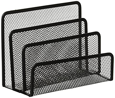 Aojia Desk Mesh Collection Mini Stacking Sorter - 3 Section, Ly-9126a