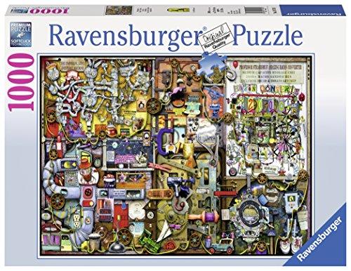 """Ravensburger Puzzle 19710 – """"Colin Thompson: Erfindergeist"""" Erwachsenenpuzzle"""