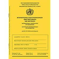 Impfausweis/Impfpass/Impfbuch - Ausgabe 2021 - internationale Bescheinigung über Impfungen für Babys, Kinder…