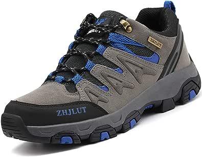 LIANNAO Scarpe da Trekking Uomo Donna Arrampicata Sportive All'aperto Scarponcini da Escursionismo Sneakers Impermeabili Traspiranti Passeggiate Stivali Unisex 36-47