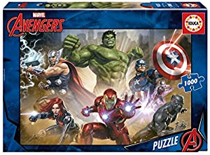 Educa Borrás- Avengers Puzzle, 1000 Piezas (17694)
