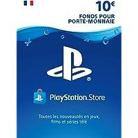 Carte PSN 10 EUR | Compte français | Code PSN à télécharger
