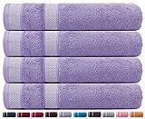 CASA COPENHAGEN Solitaire Collezione – Set di 4 Asciugamani da…