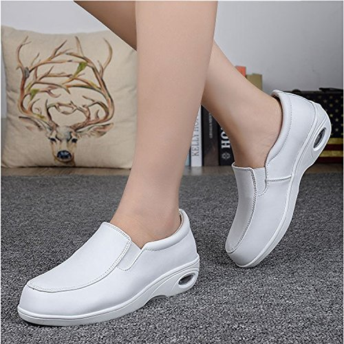 Minetom Casuel Mode Femme Compensées Montante Sneakers Marche Chaussures Femmes Sneakers Style 05