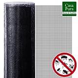 Moustiquaire Fenetre casa pura® | Protection n°1 Anti-Insecte : Maille Fine Stop Insecte | Découpable & Indéchirable | 300x150cm