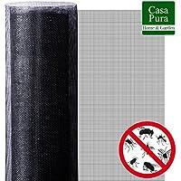 Moustiquaire Fenetre casa pura®   Protection n°1 Anti-Insecte : Maille Fine Stop Insecte   Découpable & Indéchirable   1500x100cm