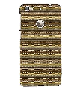 Fuson Designer Back Case Cover for LeEco Le 1s :: LeEco Le 1s Eco :: LeTV 1S (Brown designer pattern)