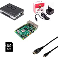 Raspberry Pi 4 4GB/magnetisches Gehäuse/Netzteil/32GB SD Card/HDMI Kabel