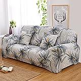 QINQIN All-Inclusive-europäische Sofabezug,Anti-Rutsch-Blume Sofabezug Stretch Sofa Deckel Volle Deckung Sofa Handtuch Pad -E 90-140cm (35-55in)