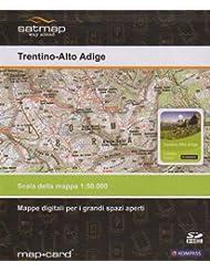 Satmap Karte Italien Südtirol + Gardasee 1:50000 für Satmap Active 10 & Satmap Active 12