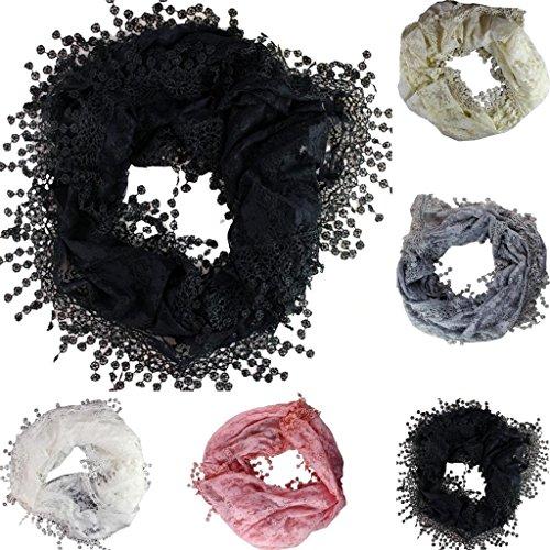 Yufashion Small Disk Pattern long shawls / scarves / wraps / head scarf / pashmina