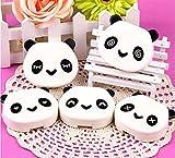 Boîte de rangement pour lentilles de contact DMtse - En forme de panda - Pour emporter en voyage vos lentilles de contact - Avec miroir - Couleur aléatoire