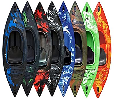 Riber One Man Sit In Kayak Canoe - Includes Free Spray Deck - 292cm / 9.4ft - Multiple Colours Available by Riber Products