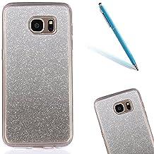 "Galaxy S6Edge Plus Funda, CLTPY Samsung Galaxy S6Edge Plus Case Cover el Bling [Cristalino Transparente] Cubierta Flexible de TPU para 5.7"" Samsung Galaxy S6Edge Plus (No Samsung S6/S6Edge) + 1 x Aguja - Black"
