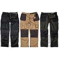 Apache Men's Holster Polycotton Holster Trouser, Stone34W x 31L